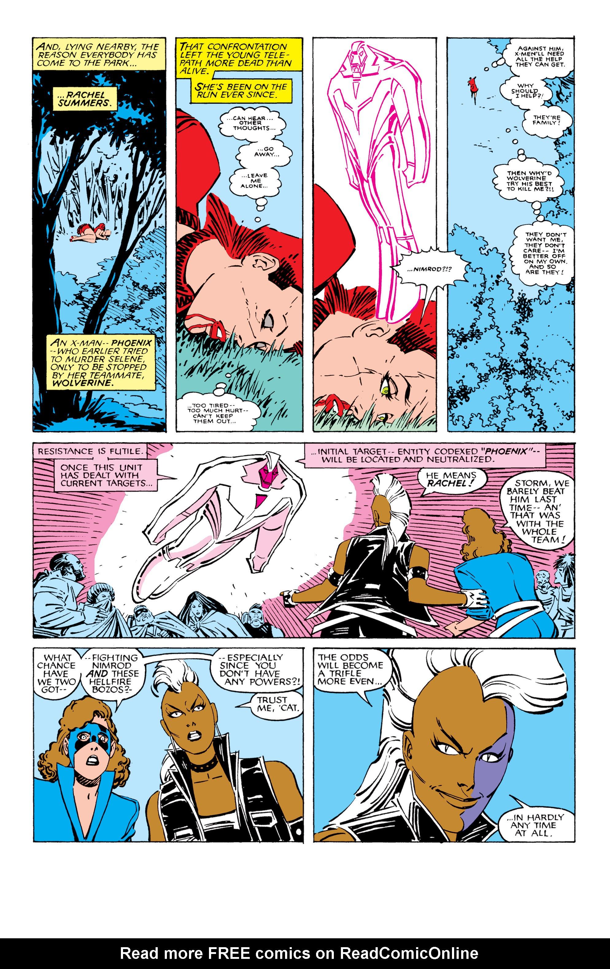 Uncanny X-Men (1963) 209 Page 3