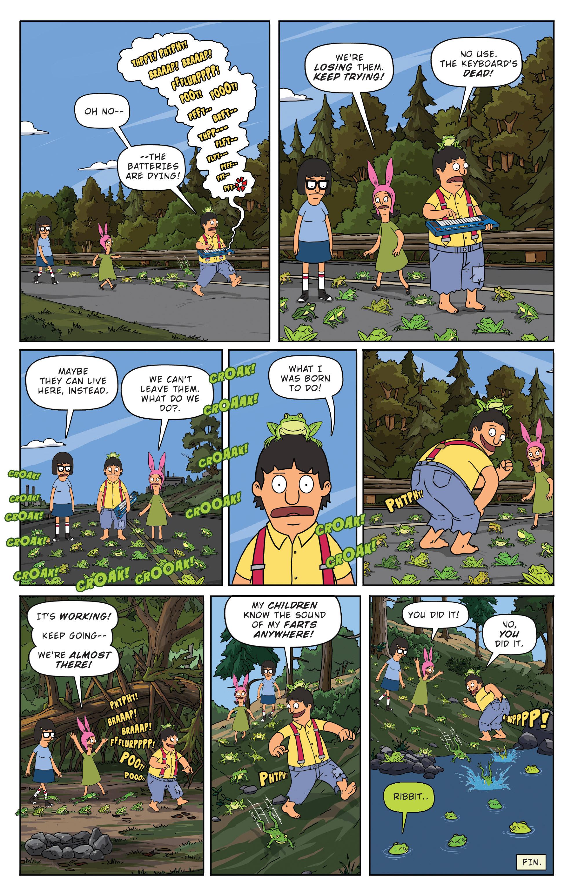 Read online Bob's Burgers (2014) comic -  Issue #3 - 24