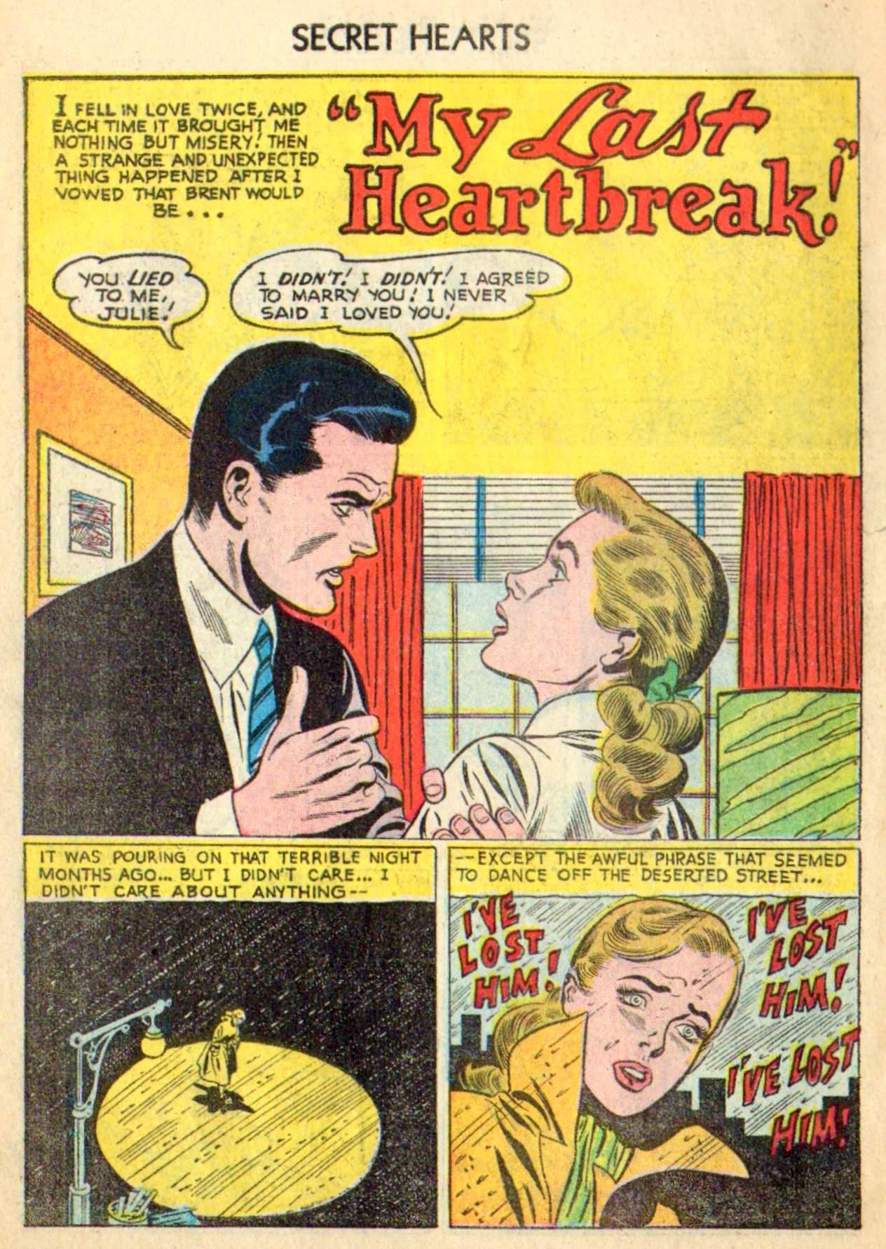 Read online Secret Hearts comic -  Issue #31 - 10