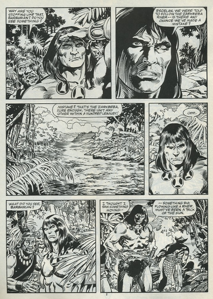 The Savage Sword Of Conan Issue #182 #183 - English 4
