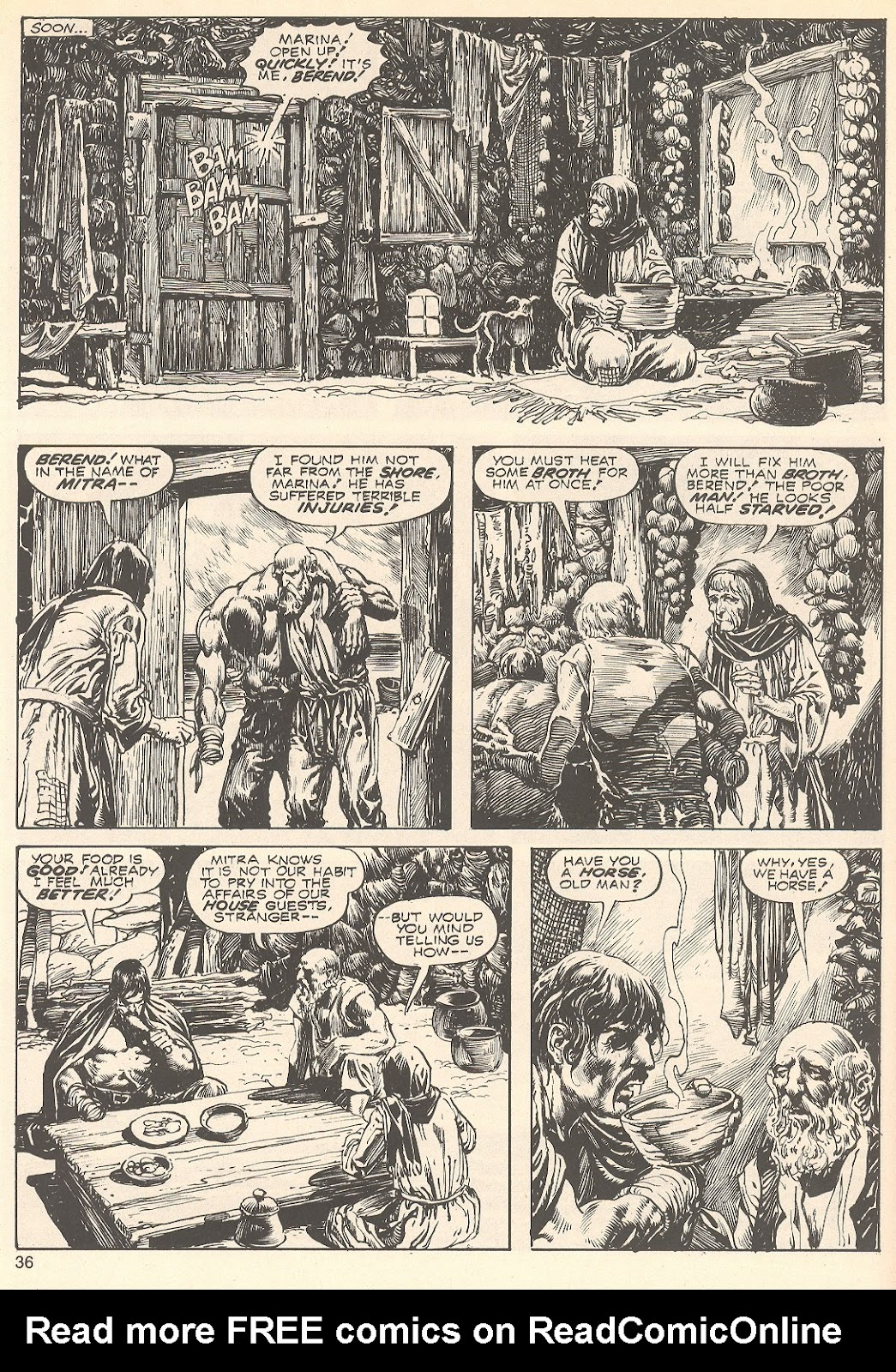 The Savage Sword Of Conan Issue #75 #76 - English 36