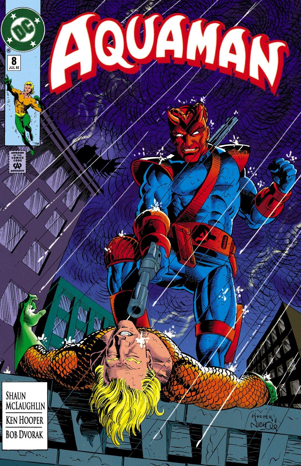 Aquaman (1991) Issue #8 #8 - English 1