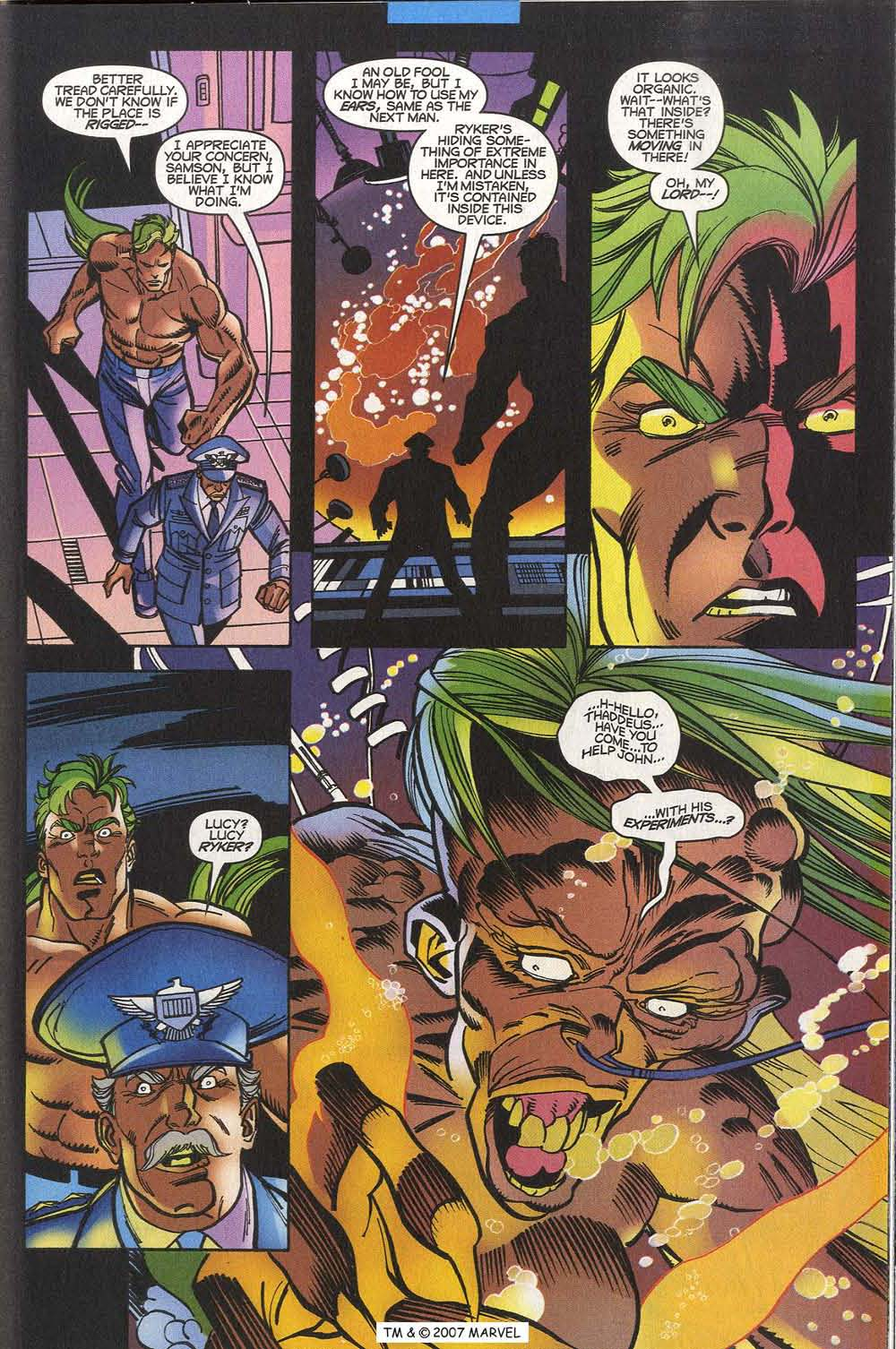 Read online The Incredible Hulk (2000) comic -  Issue #20 - 23