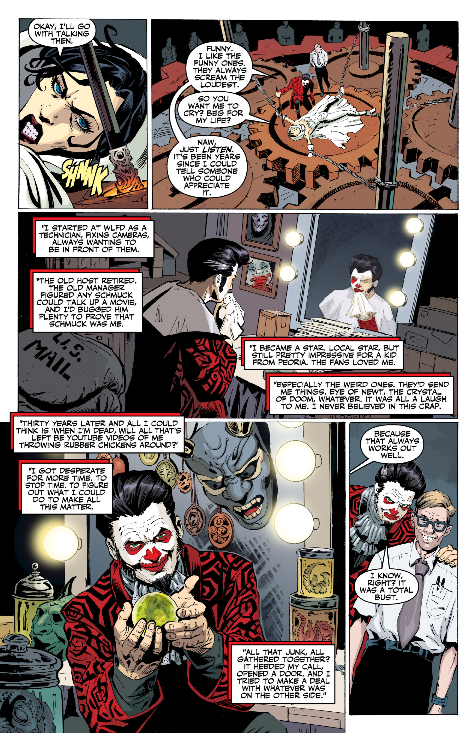 Read online Ghost (2013) comic -  Issue # TPB 2 - 34