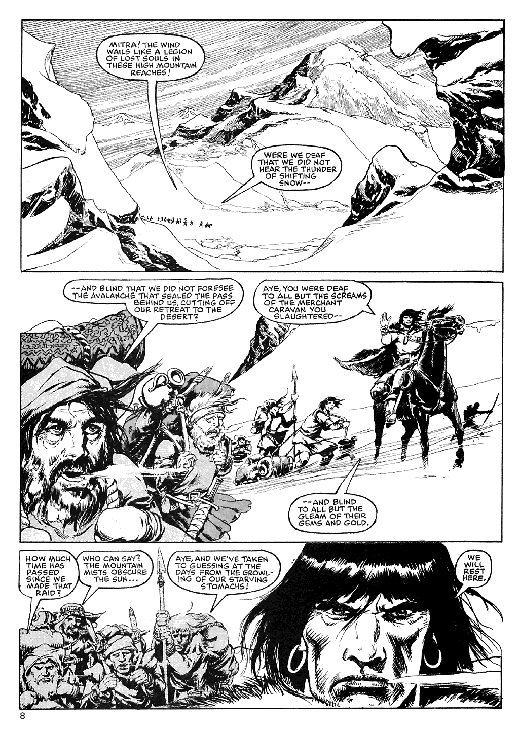 The Savage Sword Of Conan Issue #110 #111 - English 9