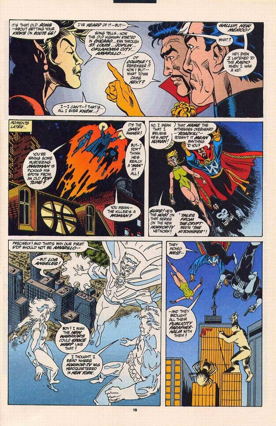 Read online Secret Defenders comic -  Issue #4 - 14