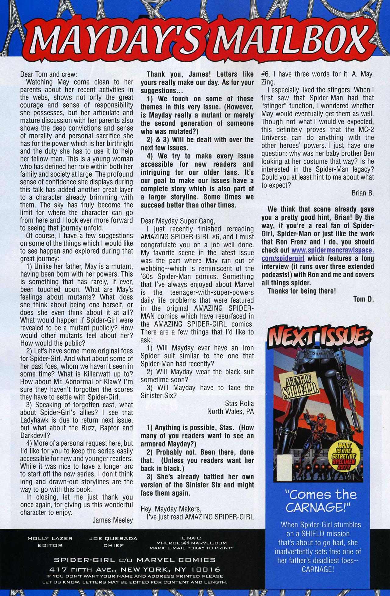 Amazing Spider-Girl #8 #23 - English 22