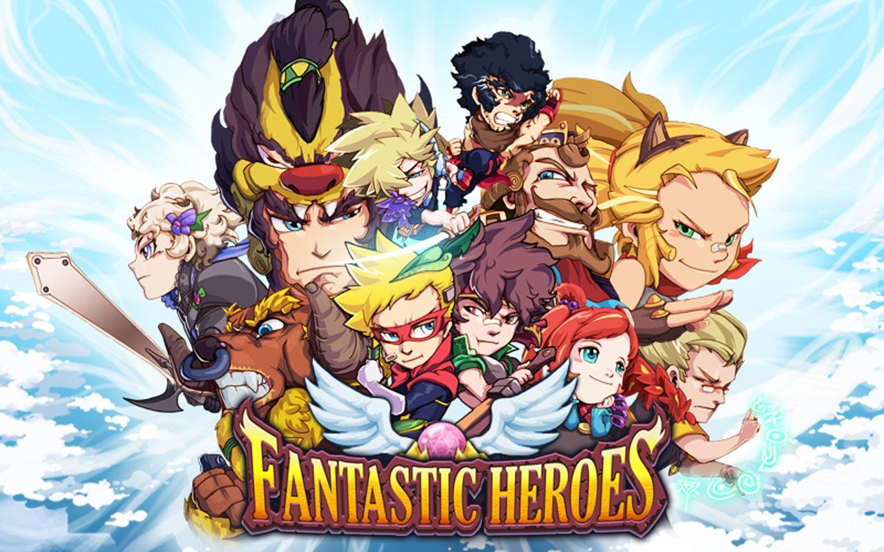 Descargar Fantastic Heroes v1.1.0 Mod apk Android Full Gratis (Gratis)