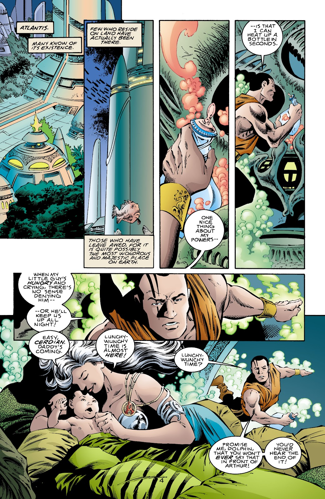 Aquaman (1994) Issue #71 #77 - English 5