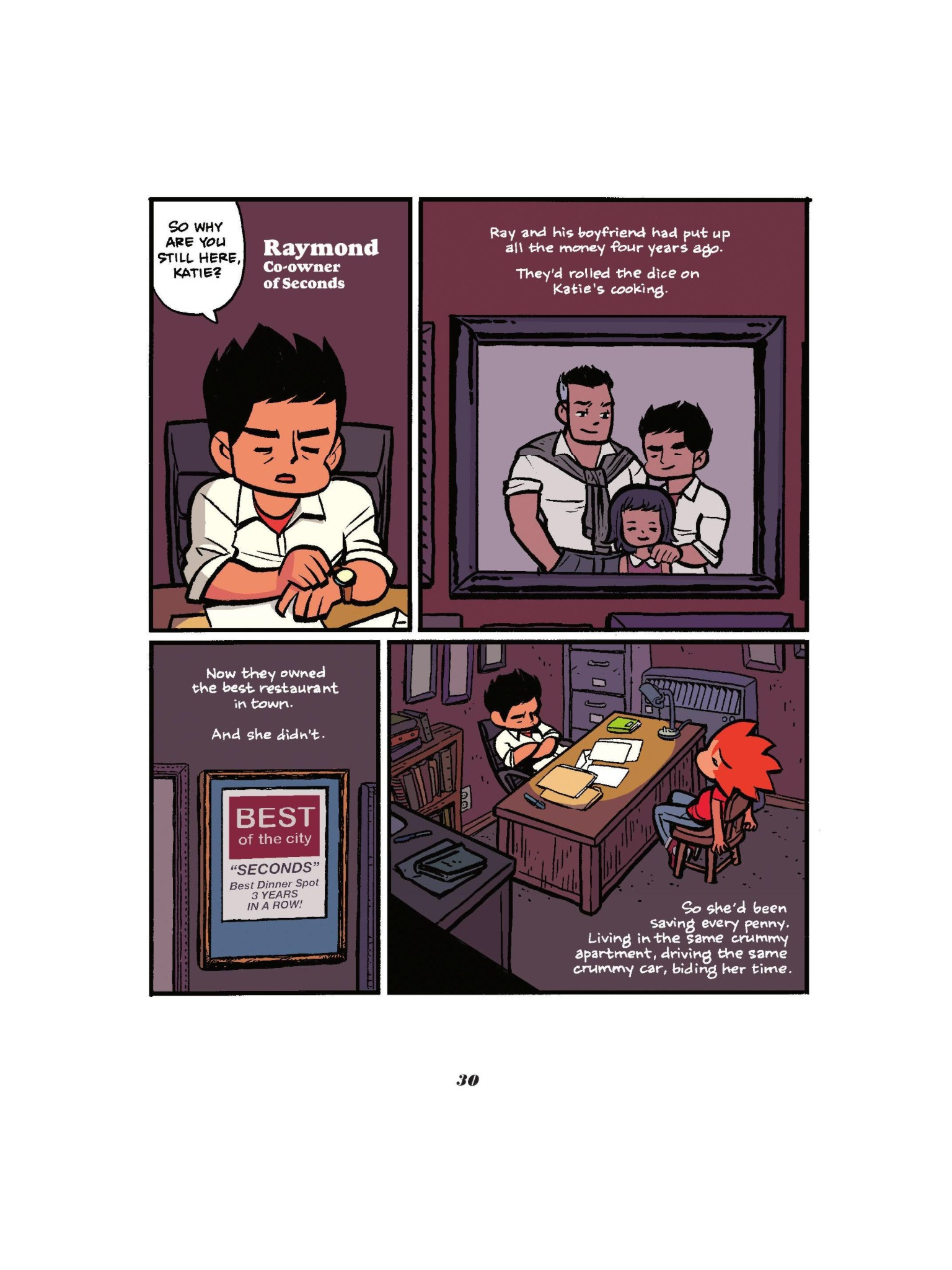 Read online Seconds comic -  Issue # Full - 32