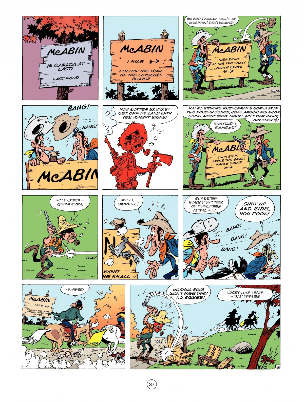 A Lucky Luke Adventure 52 Page 38