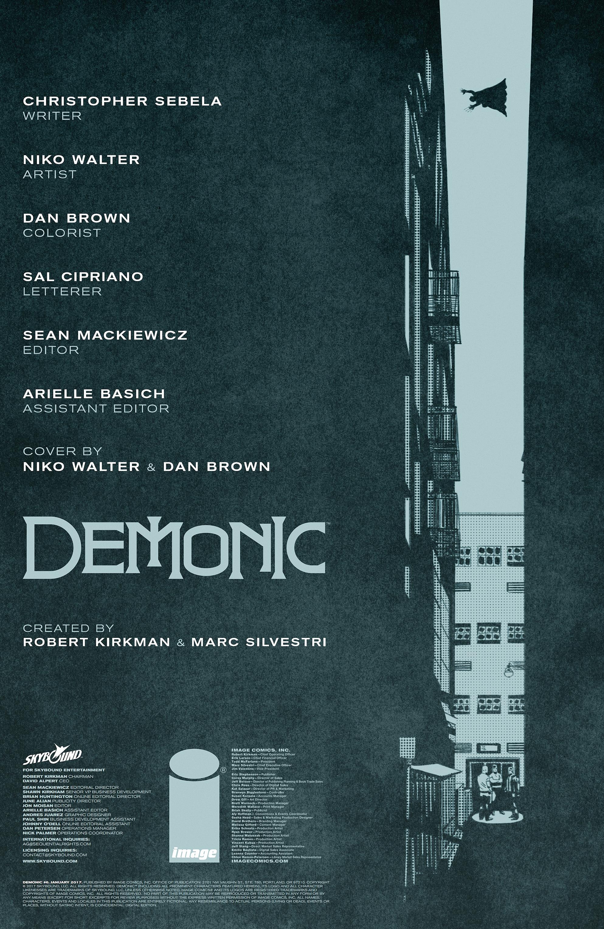 Read online Demonic comic -  Issue #6 - 2