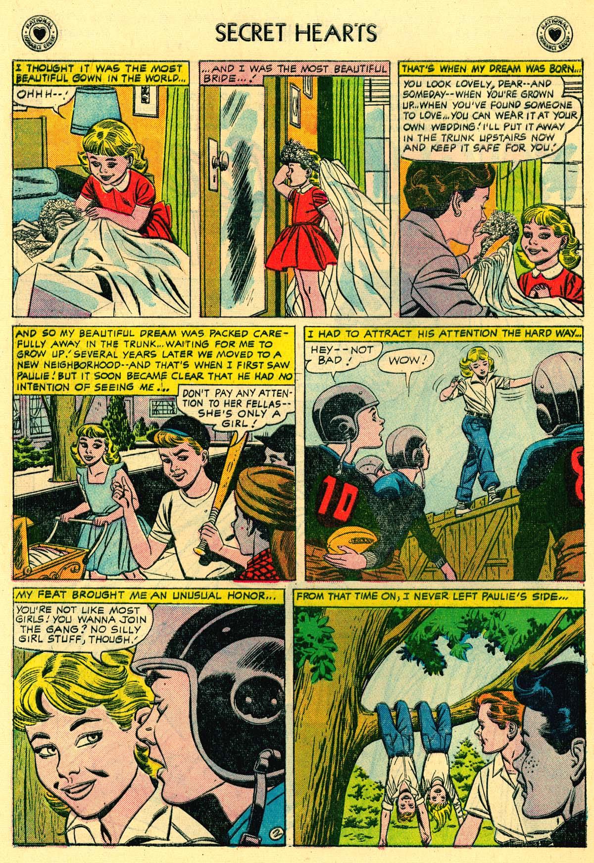 Read online Secret Hearts comic -  Issue #43 - 28