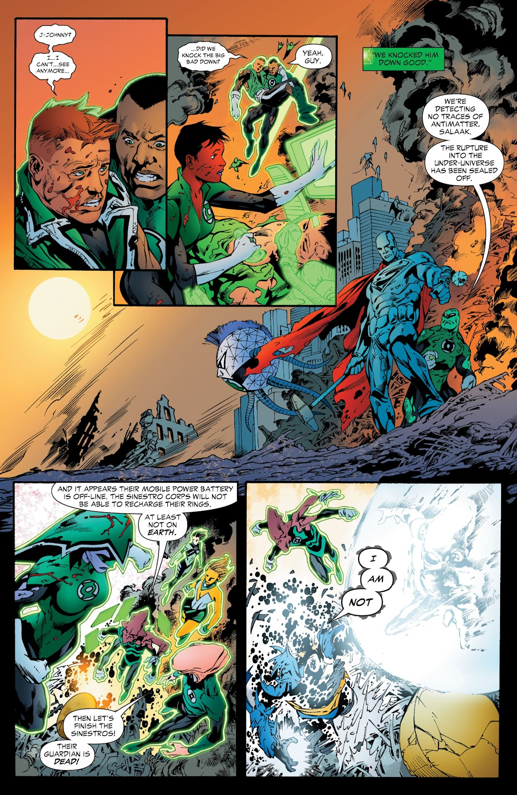 Green Lantern: The Sinestro Corps War Full #1 - English 274
