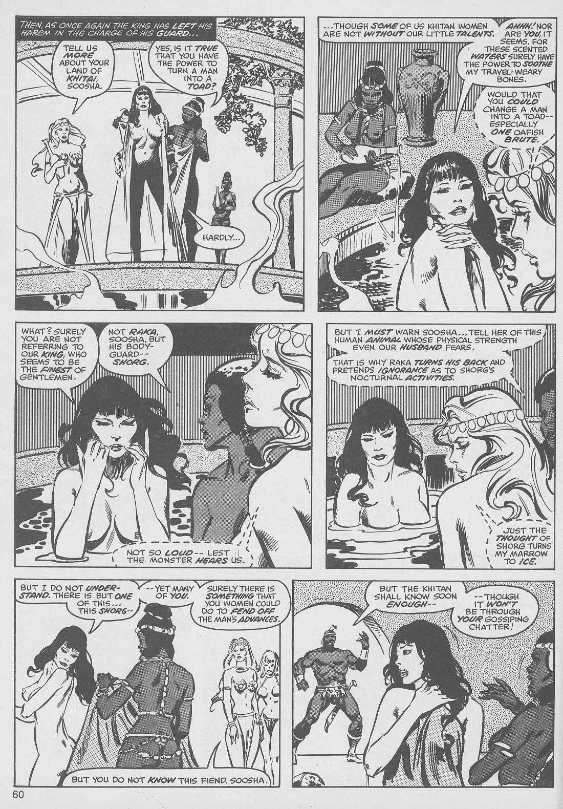 The Savage Sword Of Conan Issue #49 #50 - English 60