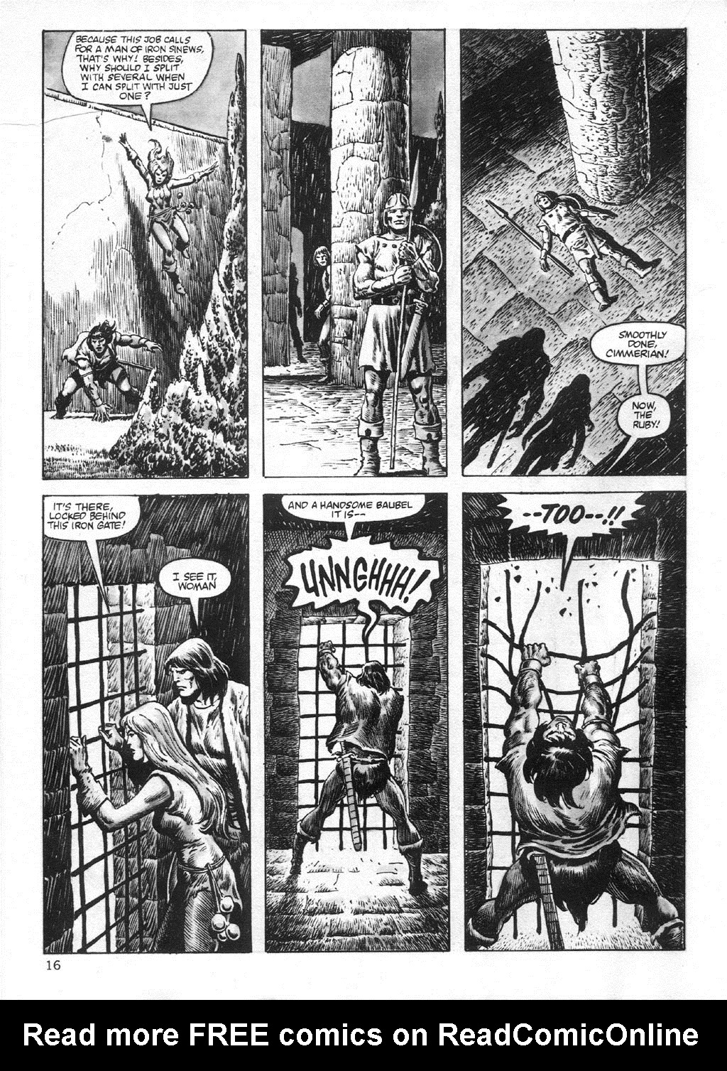 The Savage Sword Of Conan Issue #95 #96 - English 16