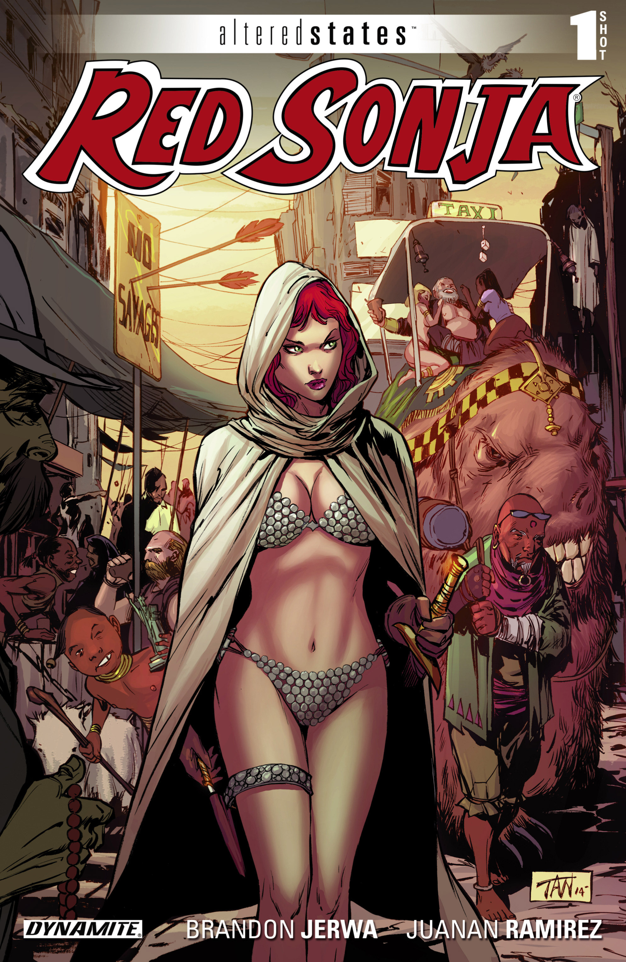 Altered States: Red Sonja Full Page 1
