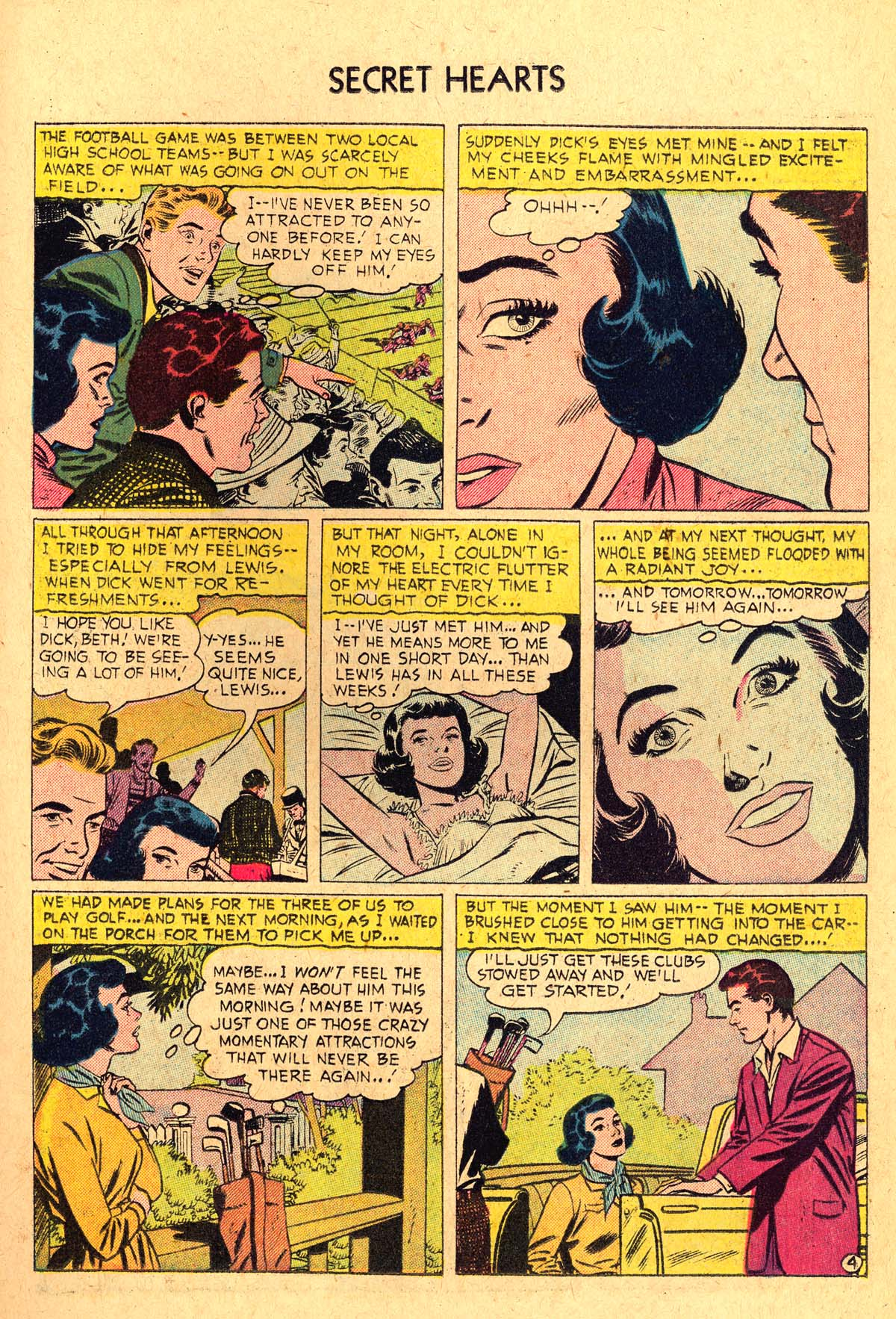 Read online Secret Hearts comic -  Issue #36 - 15