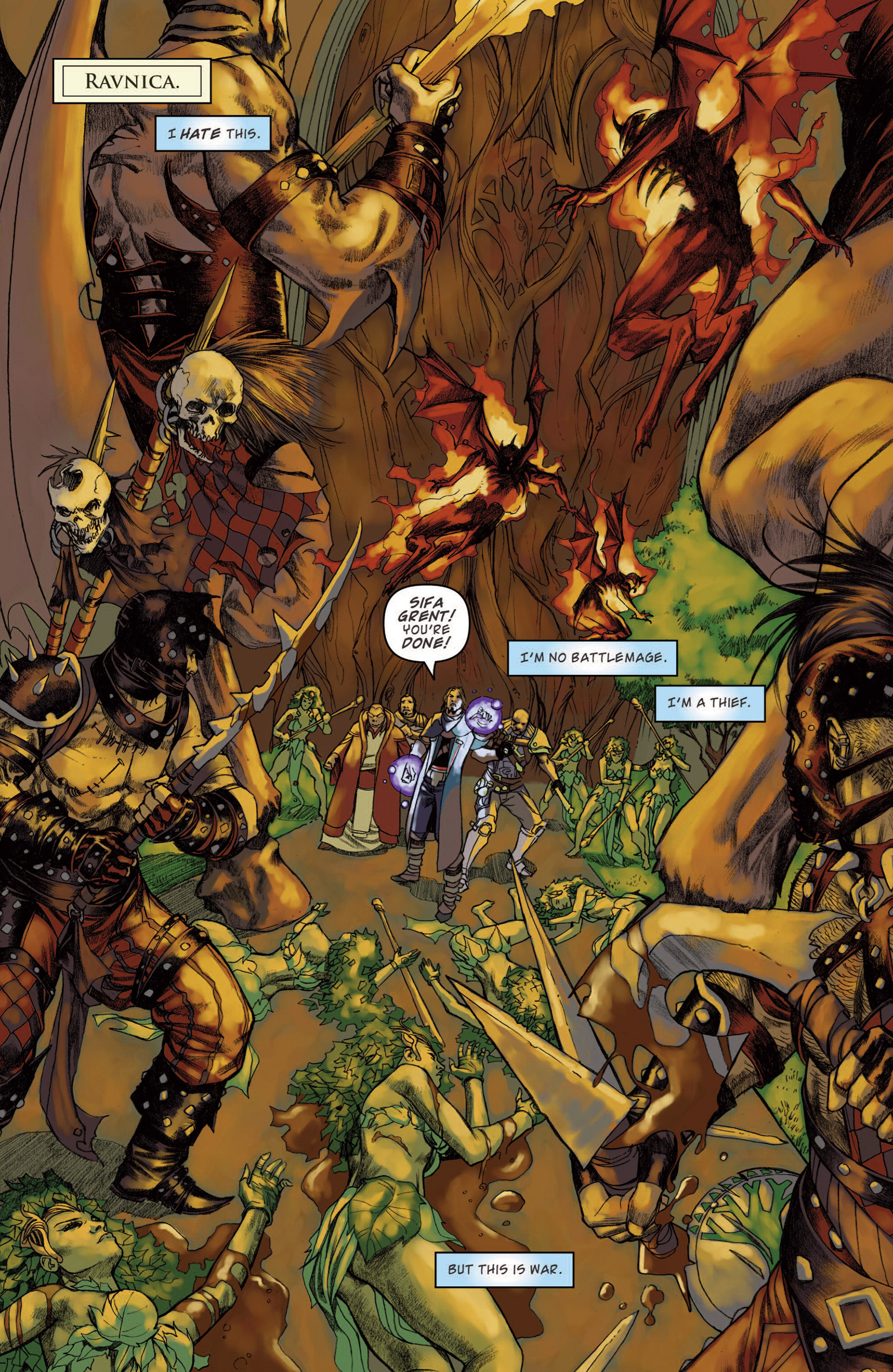 Read online Magic: The Gathering--Path of Vengeance comic -  Issue #4 - 3
