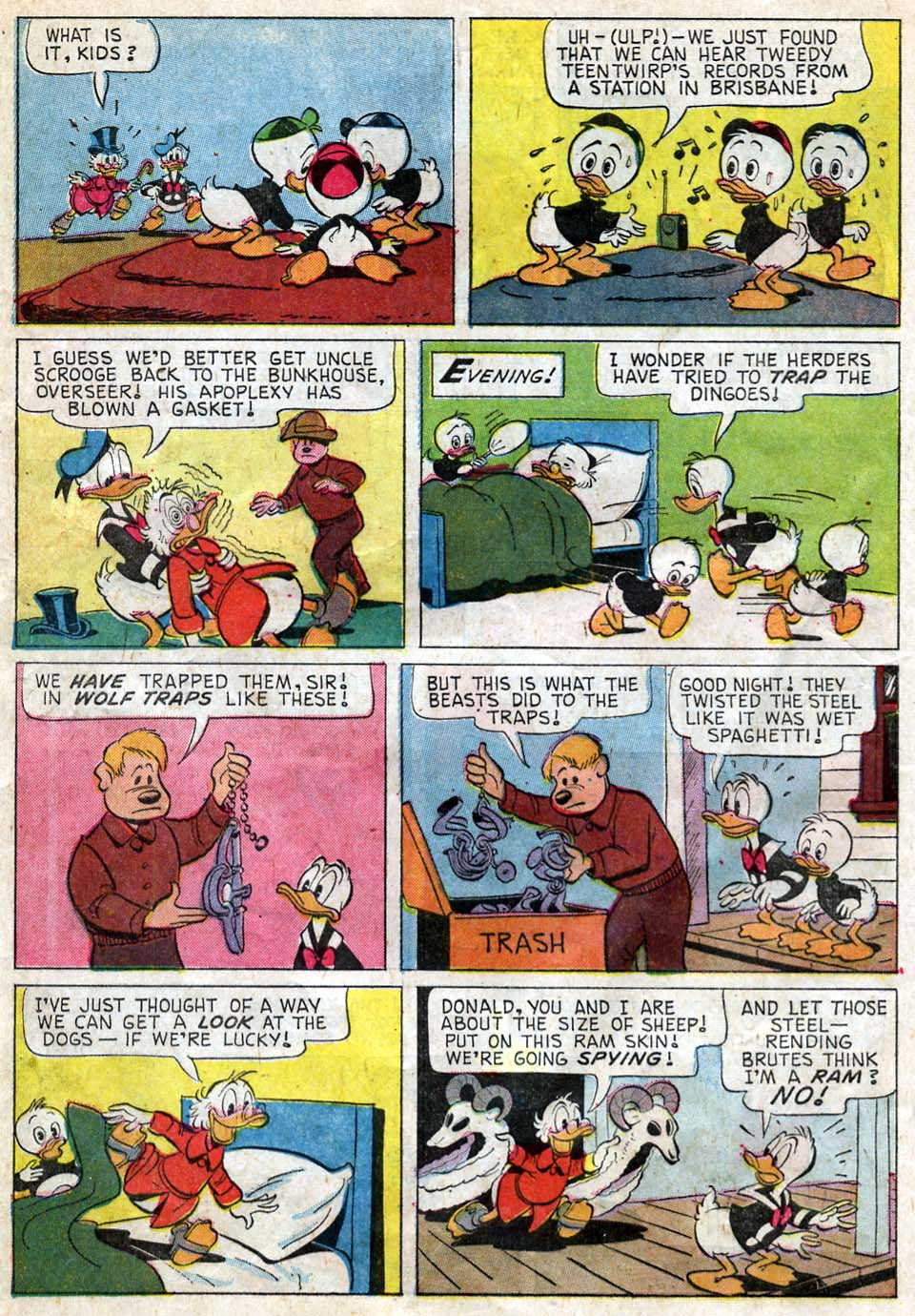 Uncle Scrooge (1953) Issue #62 #62 - English 8