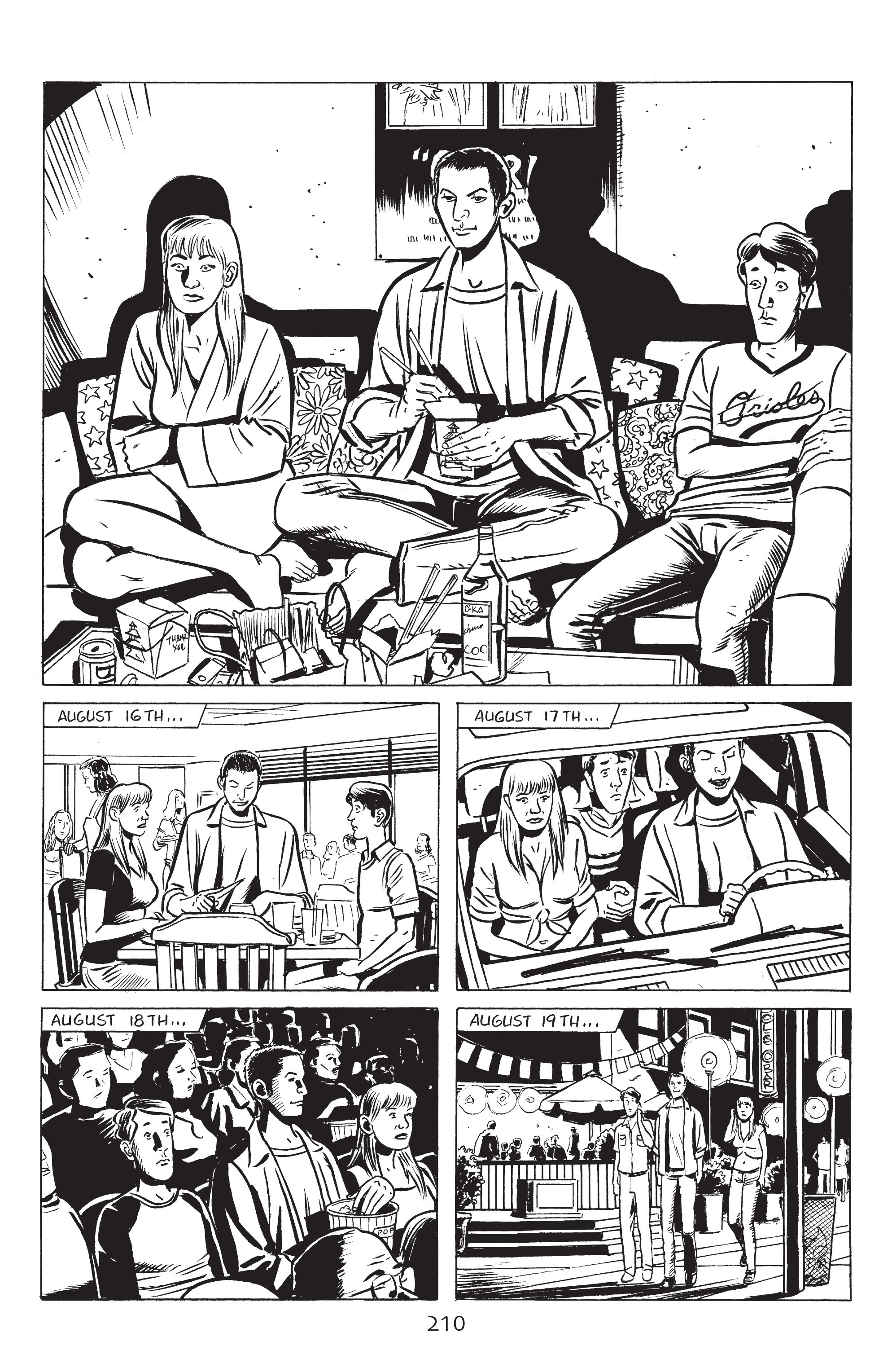 Read online Stray Bullets: Sunshine & Roses comic -  Issue #8 - 16
