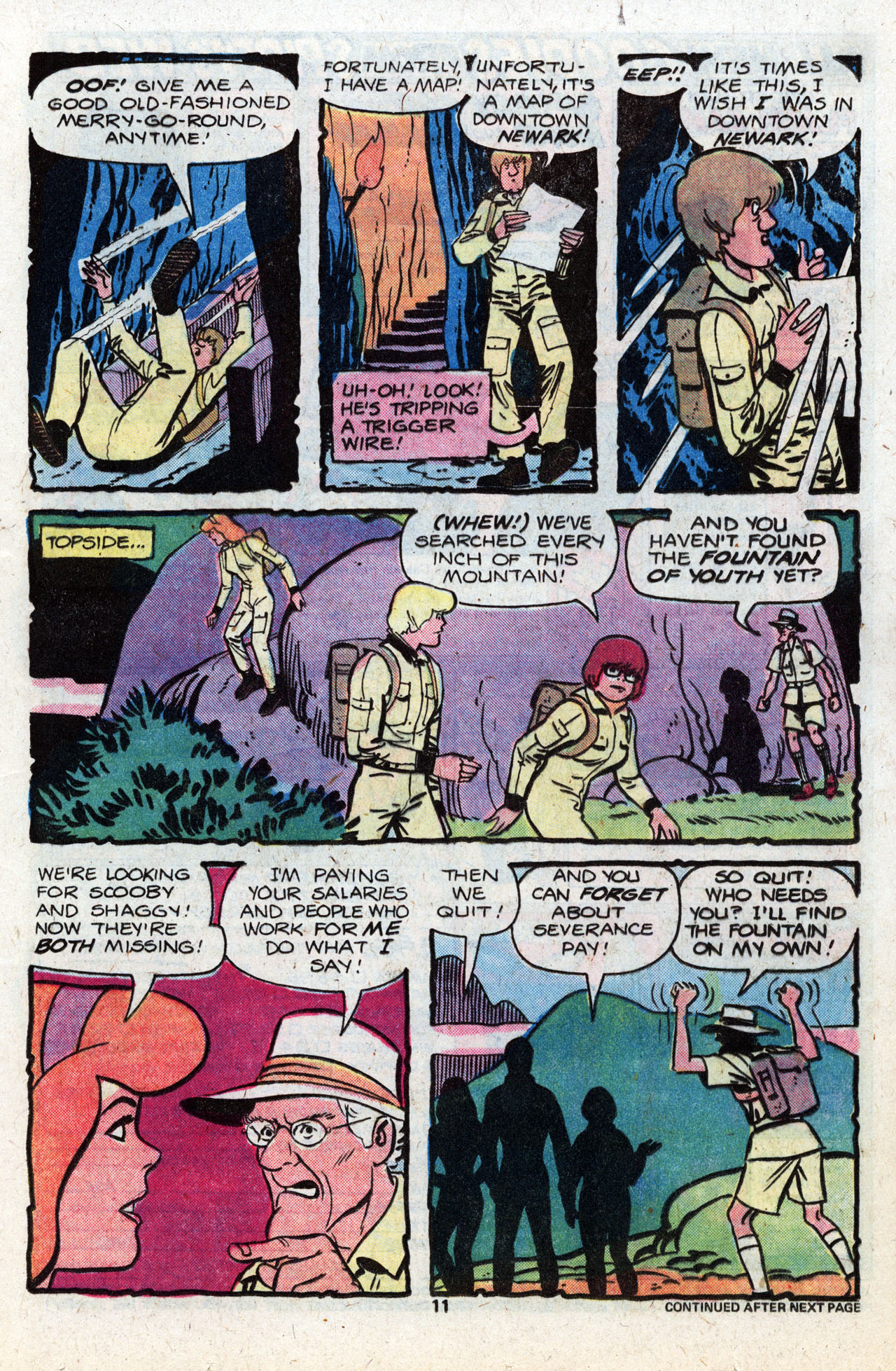Read online Scooby-Doo (1977) comic -  Issue #8 - 13