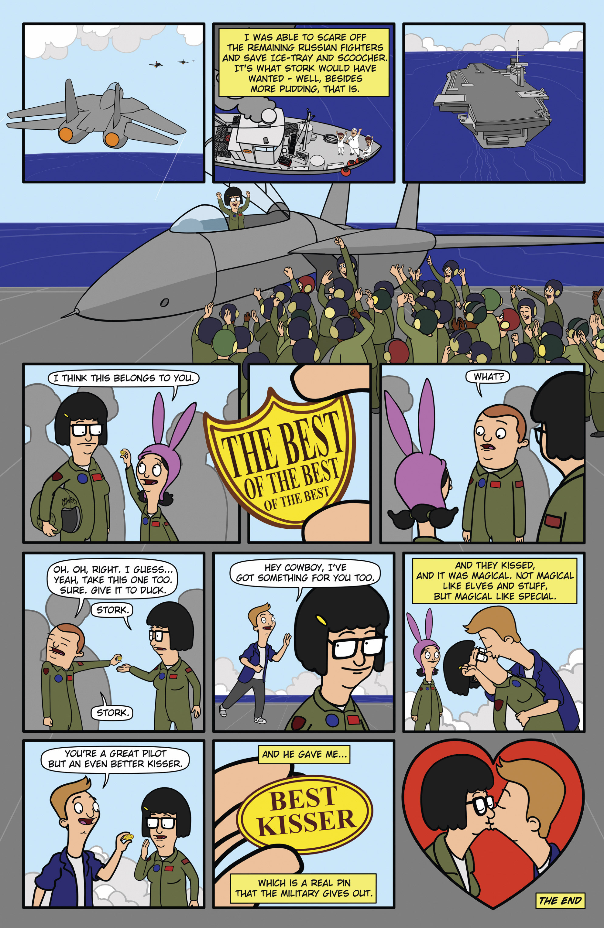 Read online Bob's Burgers (2015) comic -  Issue #12 - 11