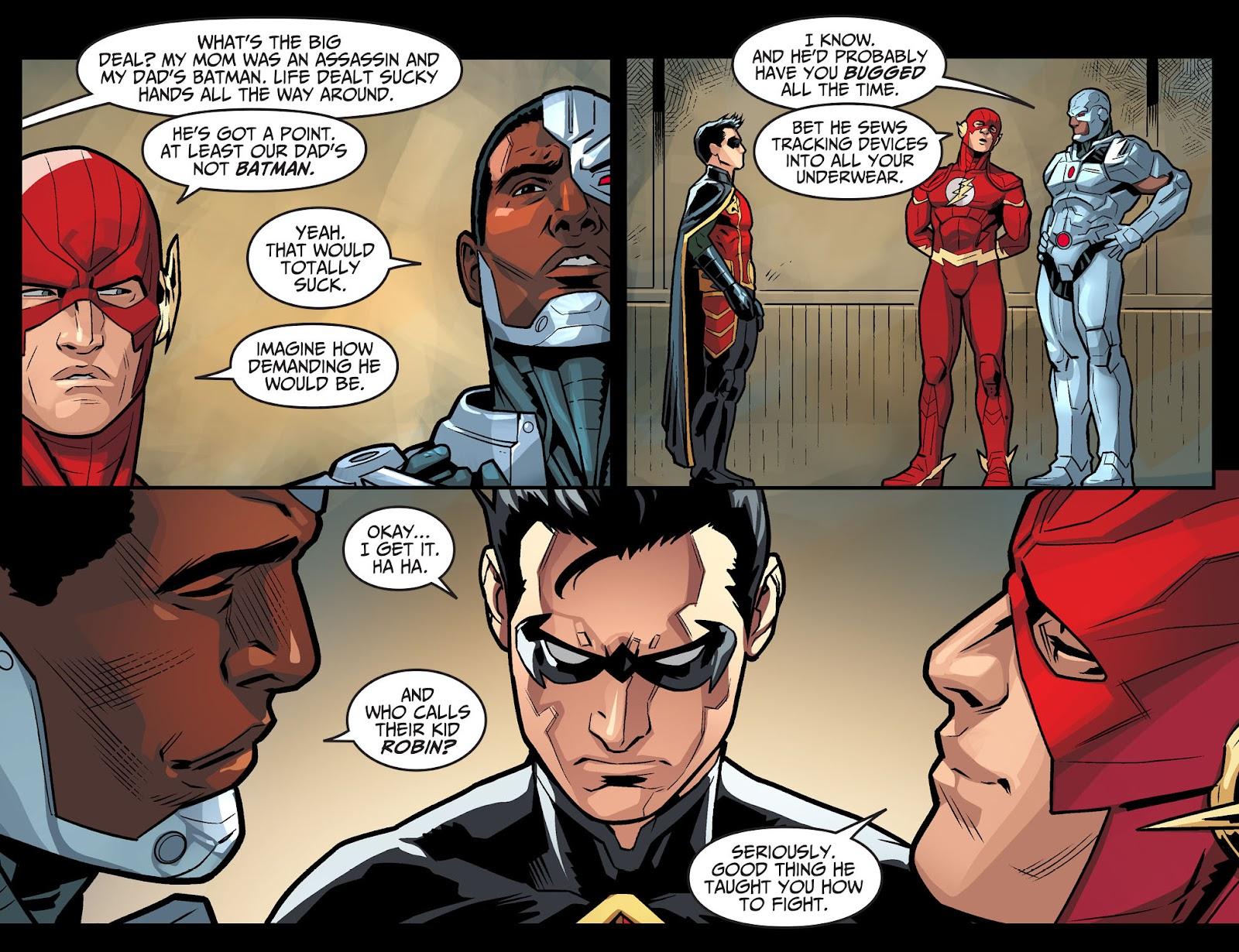 Injustice: Gods Among Us Year Four Issue #6 #7 - English 7