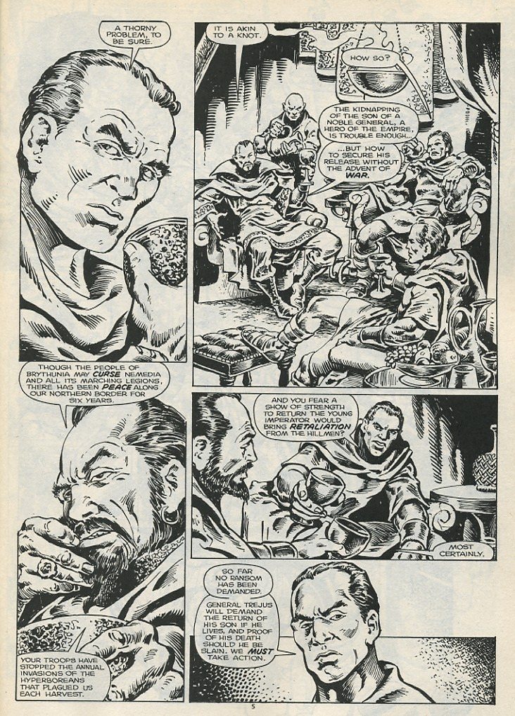 The Savage Sword Of Conan Issue #178 #179 - English 7