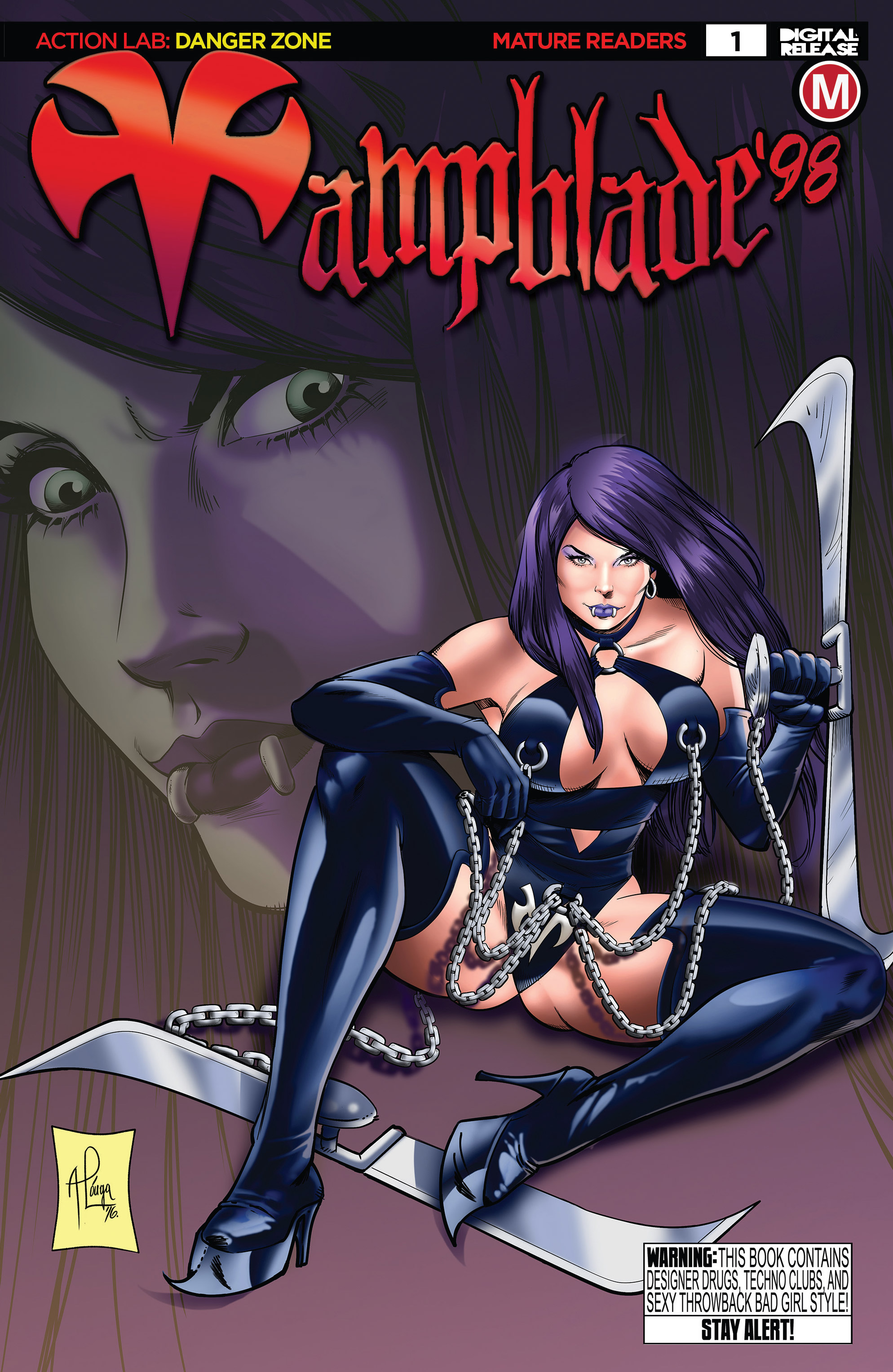 Vampblade '98 issue Full - Page 1