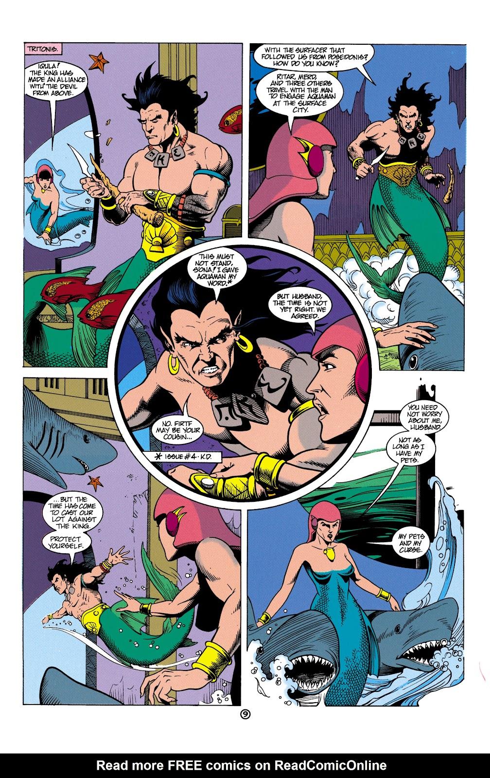Aquaman (1991) Issue #5 #5 - English 10
