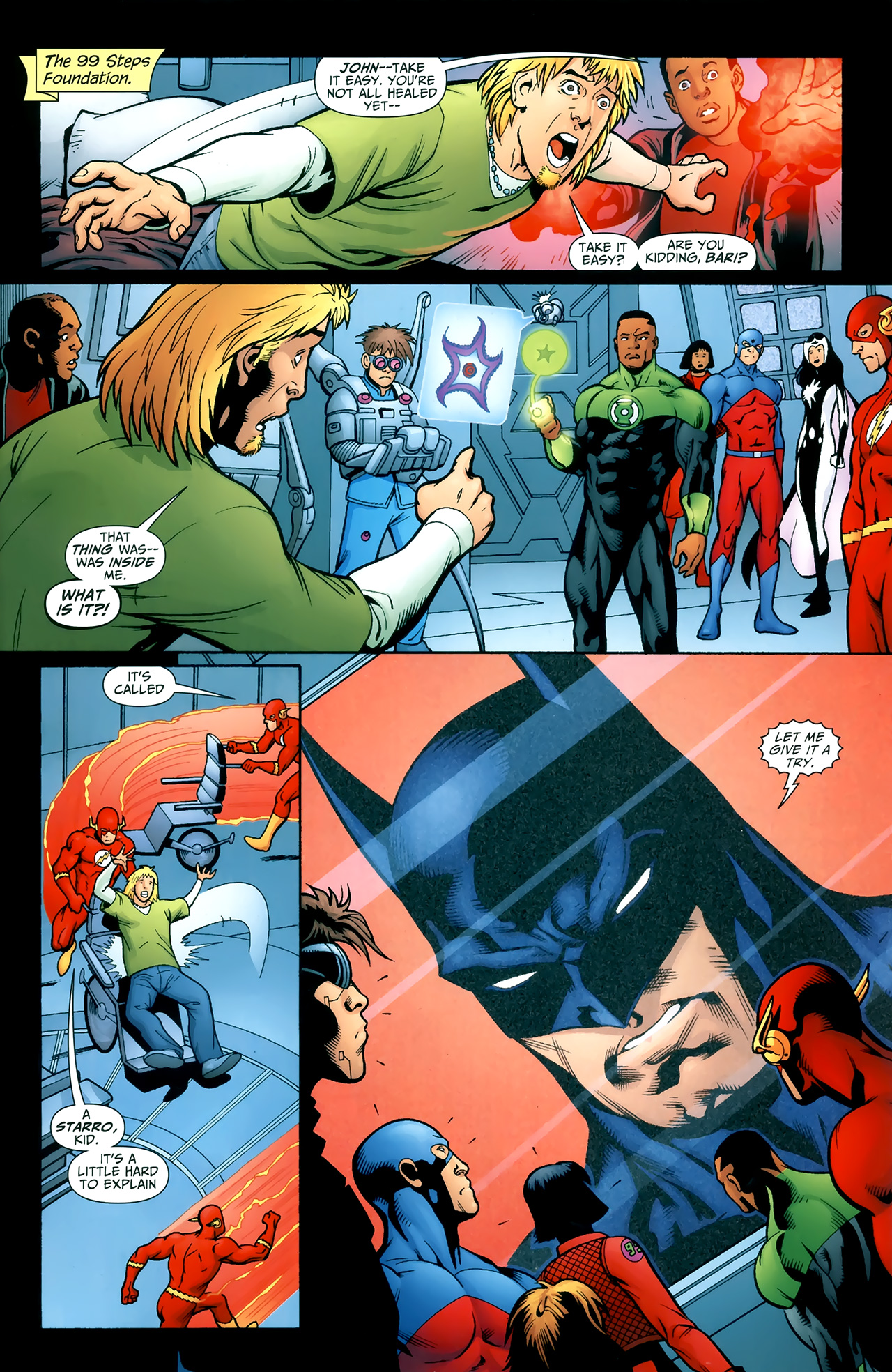 Read online Justice League of America/The 99 comic -  Issue #3 - 2