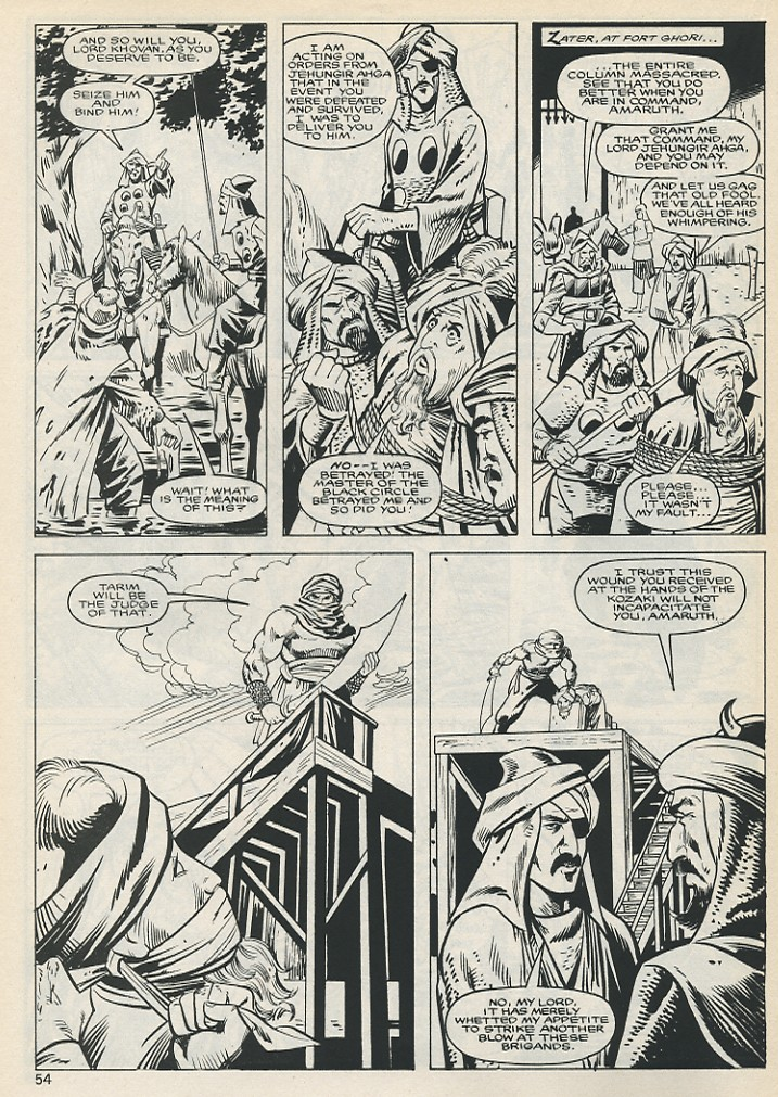 The Savage Sword Of Conan Issue #131 #132 - English 54