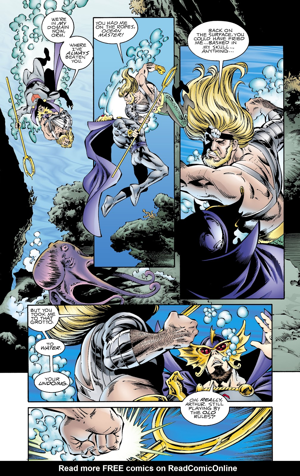 Aquaman (1994) Issue #67 #73 - English 19