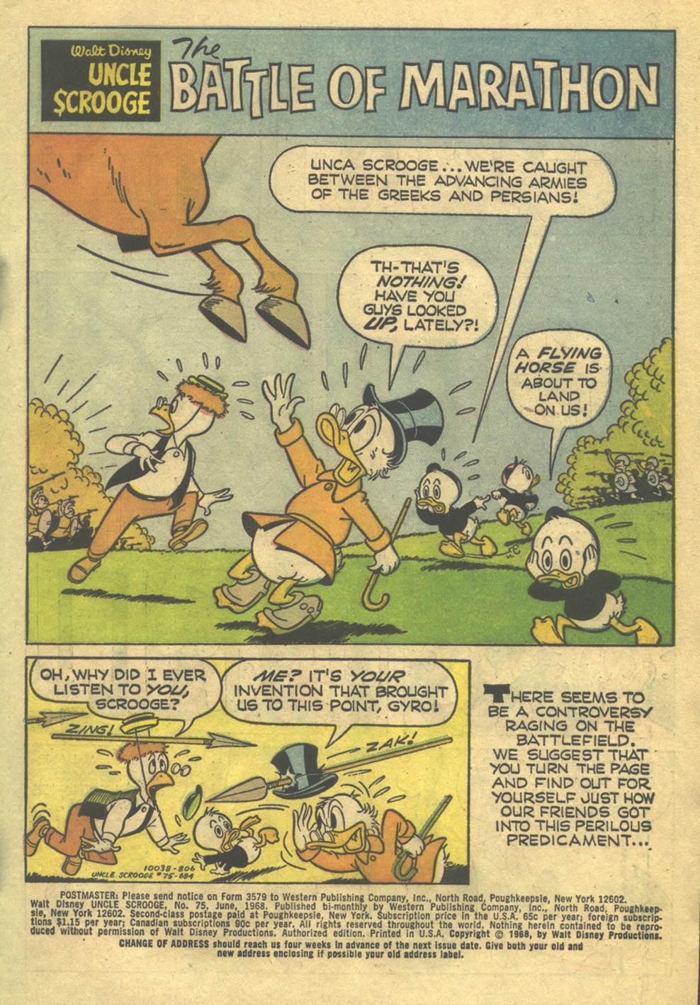 Uncle Scrooge (1953) Issue #75 #75 - English 3