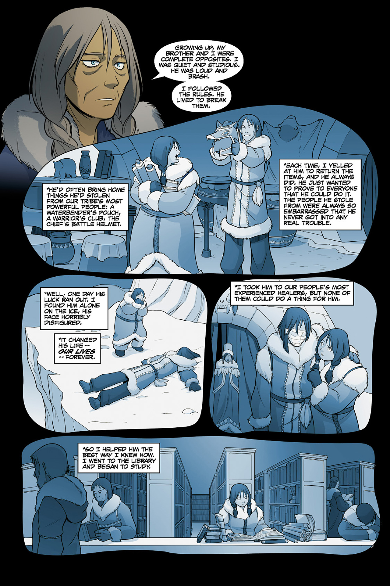 Read online Nickelodeon Avatar: The Last Airbender - The Search comic -  Issue # Part 2 - 64