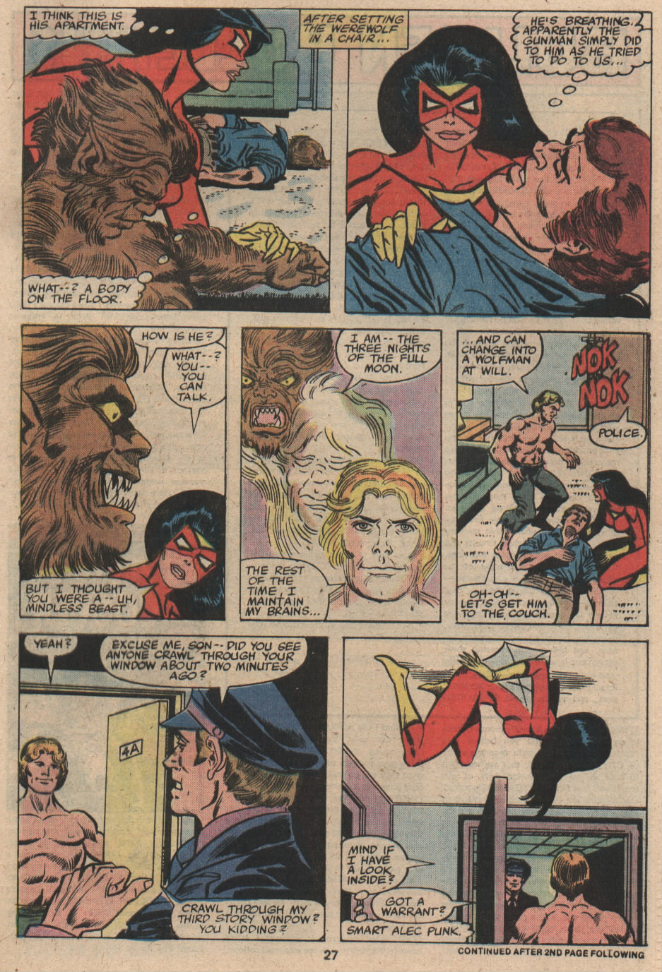 Spider-Woman (1978) Issue #19 #19 - English 17