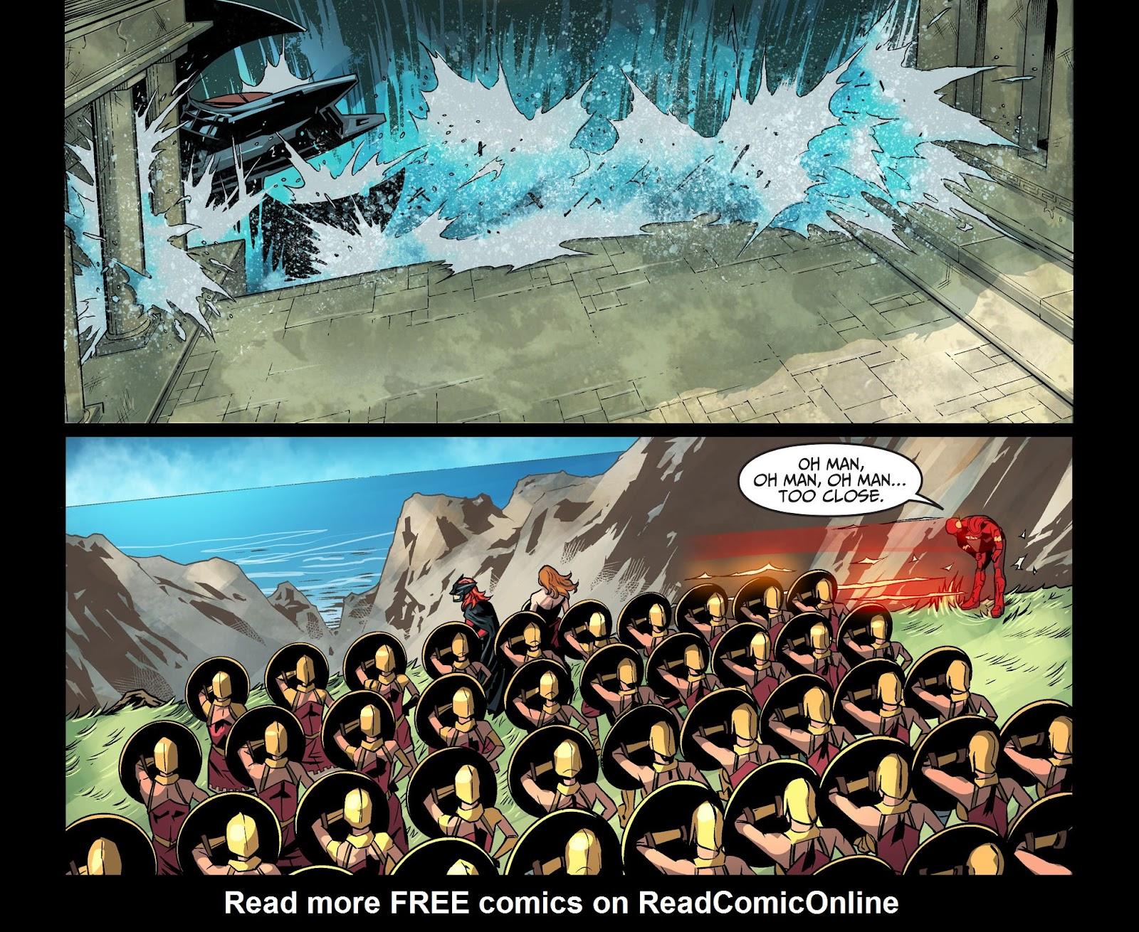Injustice: Gods Among Us Year Four Issue #20 #21 - English 13