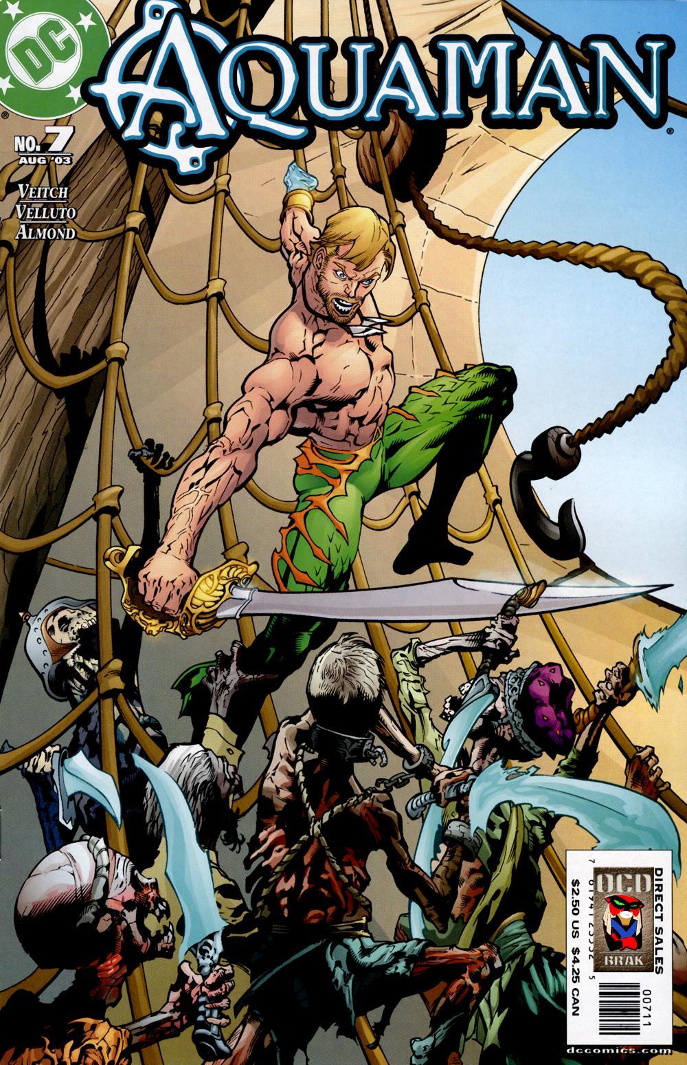 Aquaman (2003) Issue #7 #7 - English 1