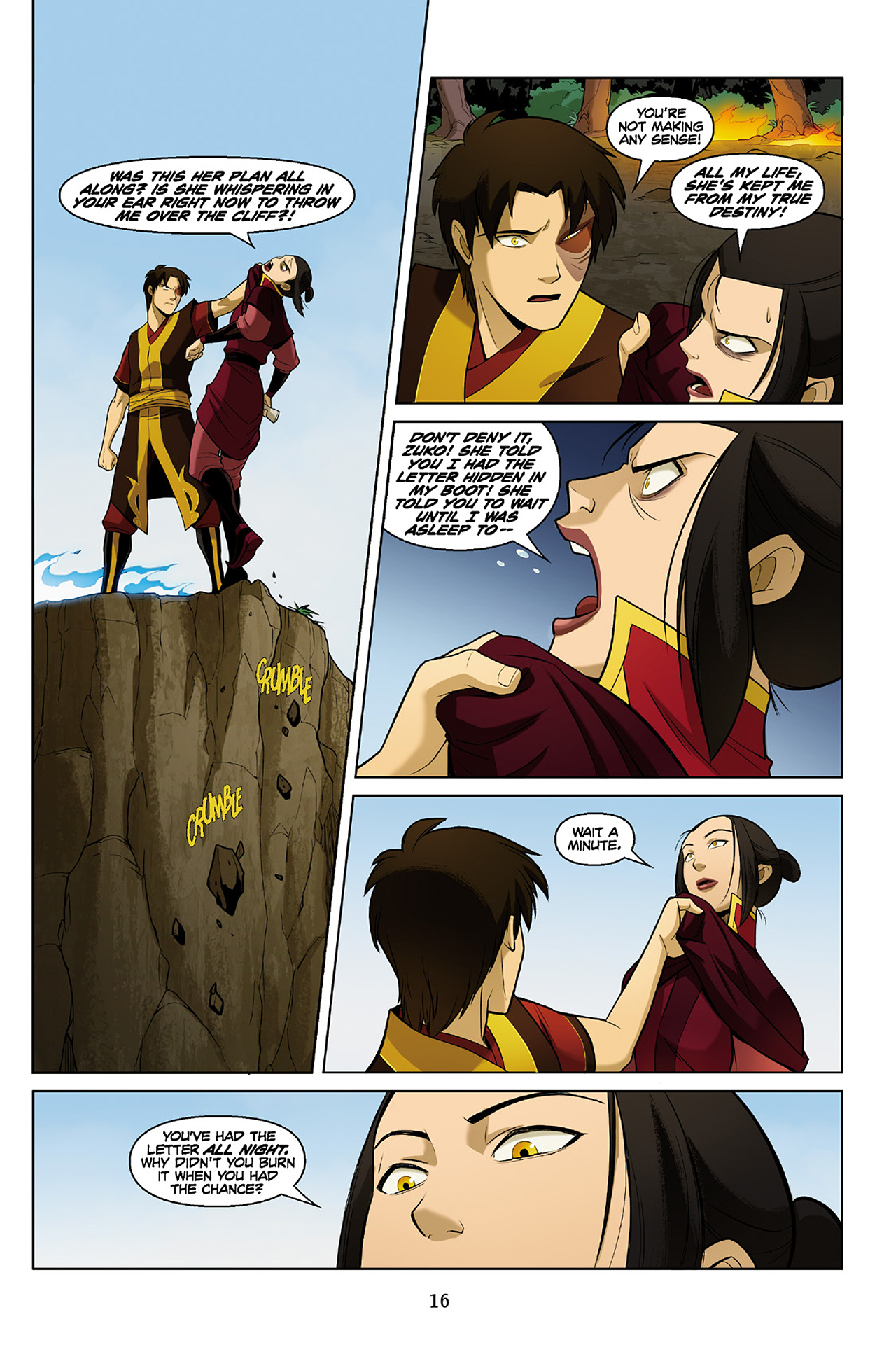 Read online Nickelodeon Avatar: The Last Airbender - The Search comic -  Issue # Part 2 - 17