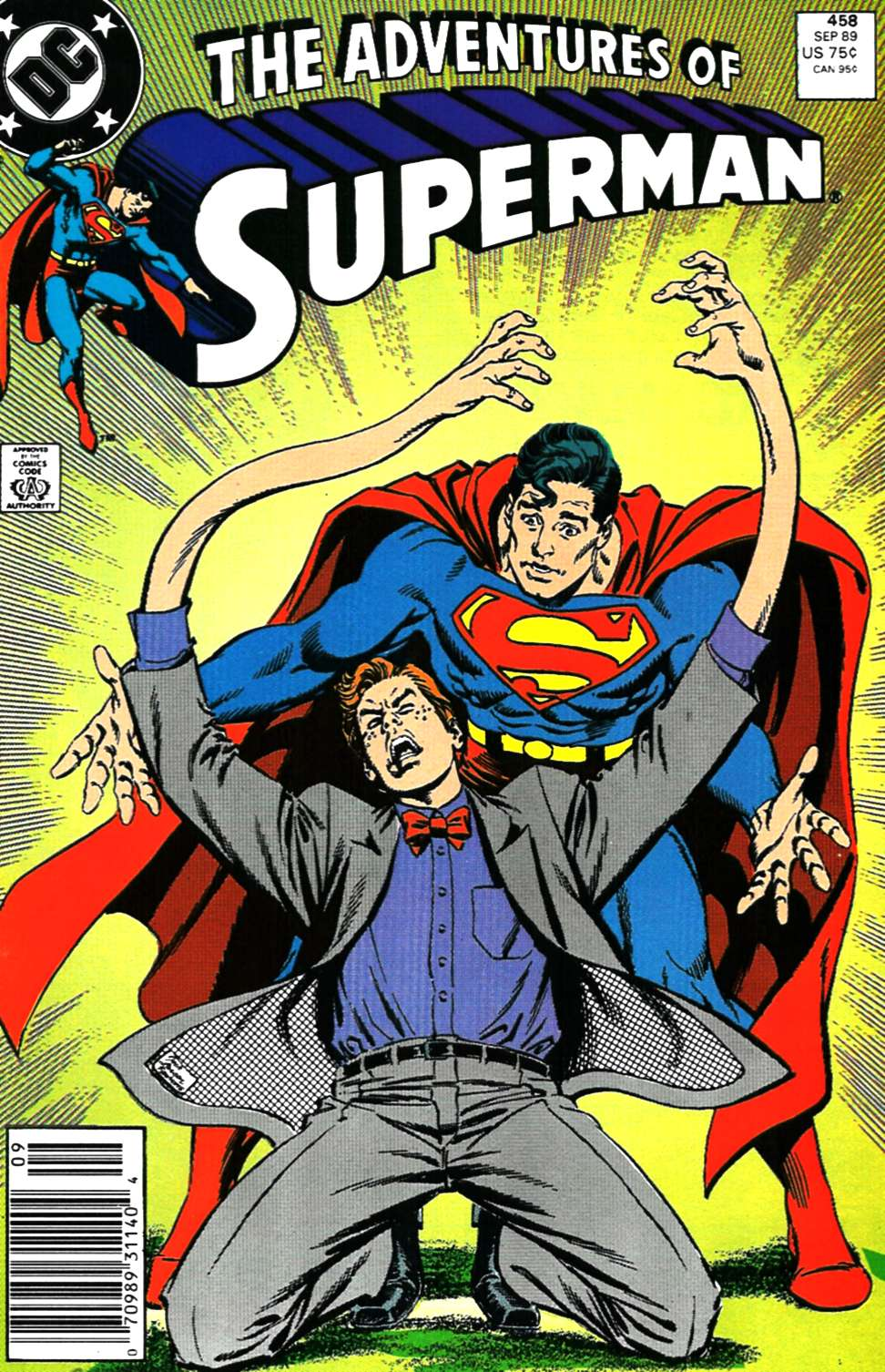 Adventures of Superman (1987) 458 Page 1