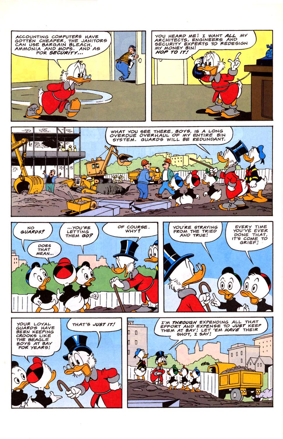 Uncle Scrooge (1953) Issue #281 #281 - English 16