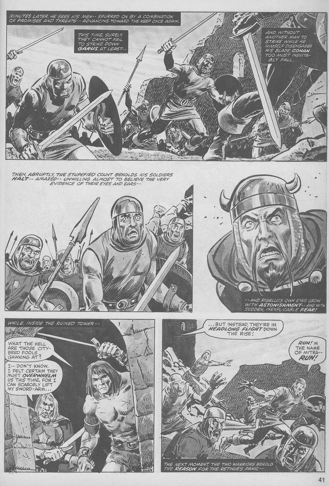 The Savage Sword Of Conan Issue #44 #45 - English 41