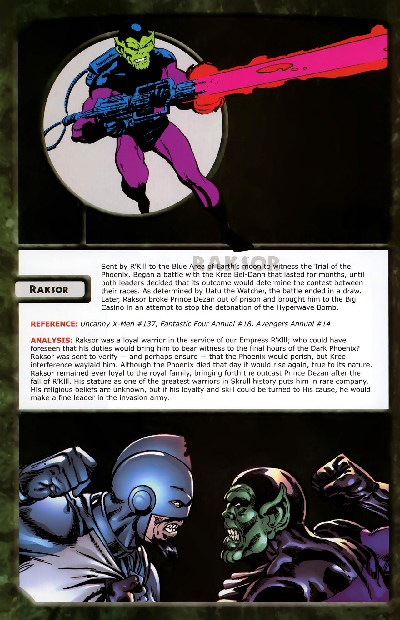 Read online Skrulls! comic -  Issue # Full - 38