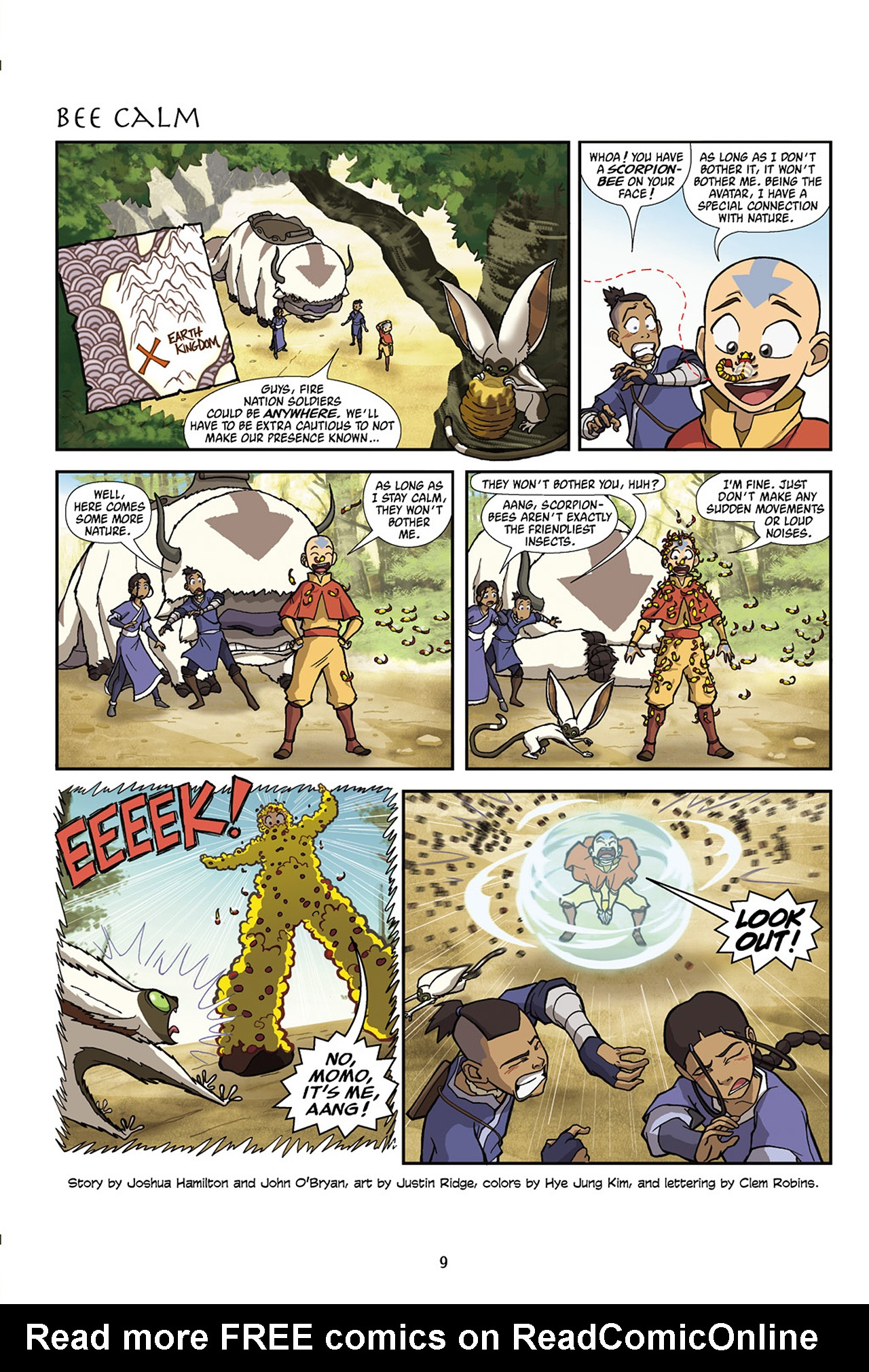 Nickelodeon Avatar: The Last Airbender - The Lost Adventures chap full pic 10