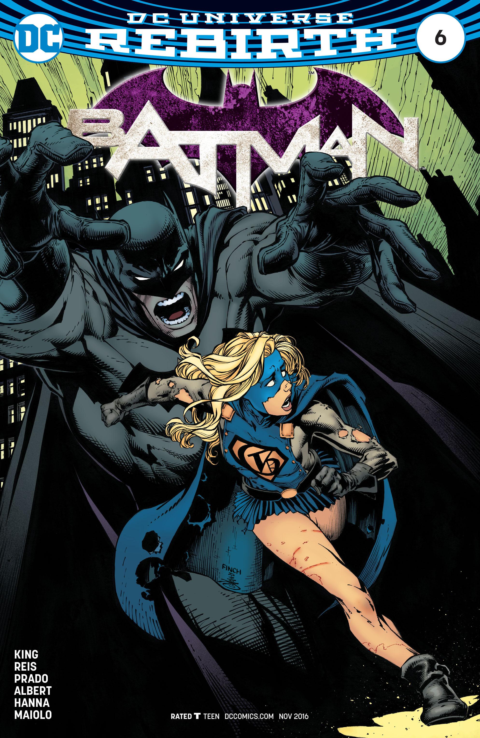 Batman (2016) 6 Page 1