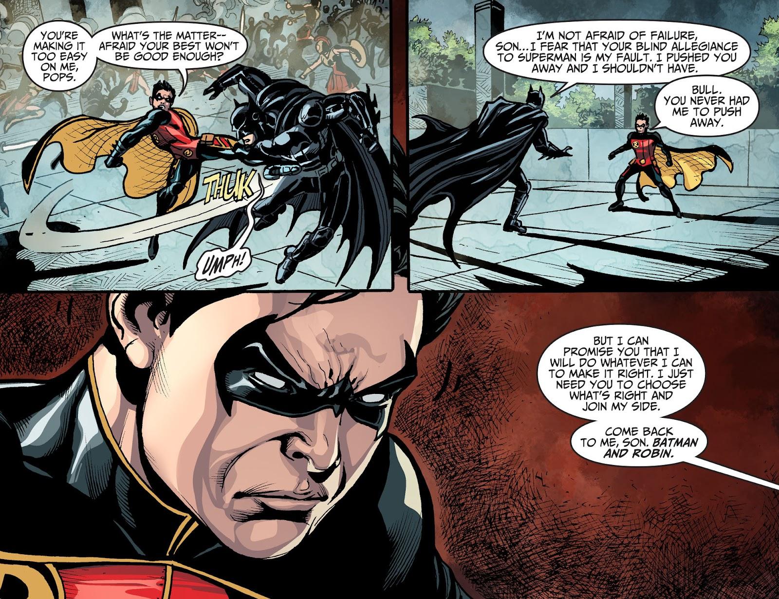 Injustice: Gods Among Us Year Four Issue #14 #15 - English 18