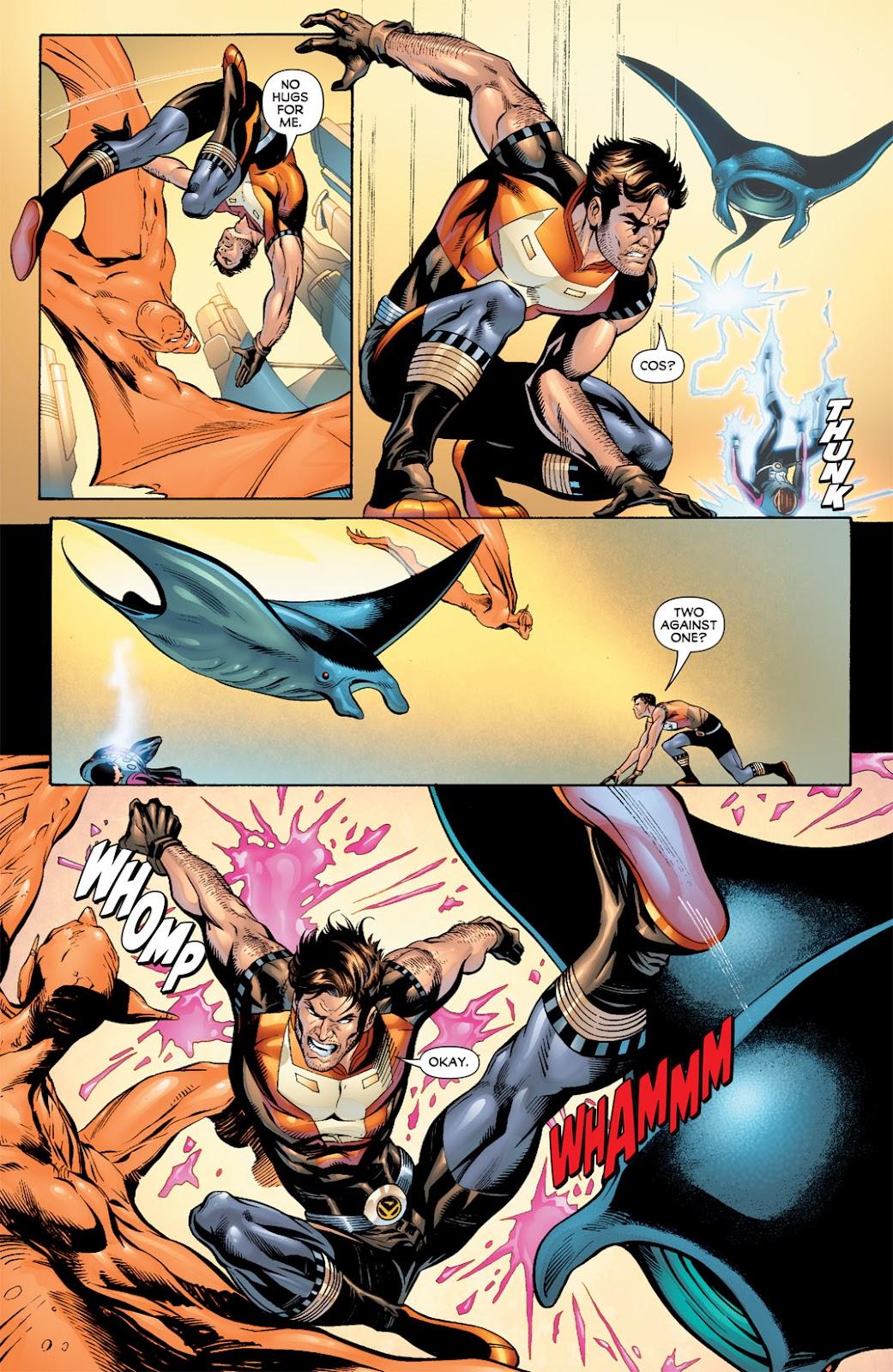 Legion of Super-Heroes (2010) Issue #7 #8 - English 14