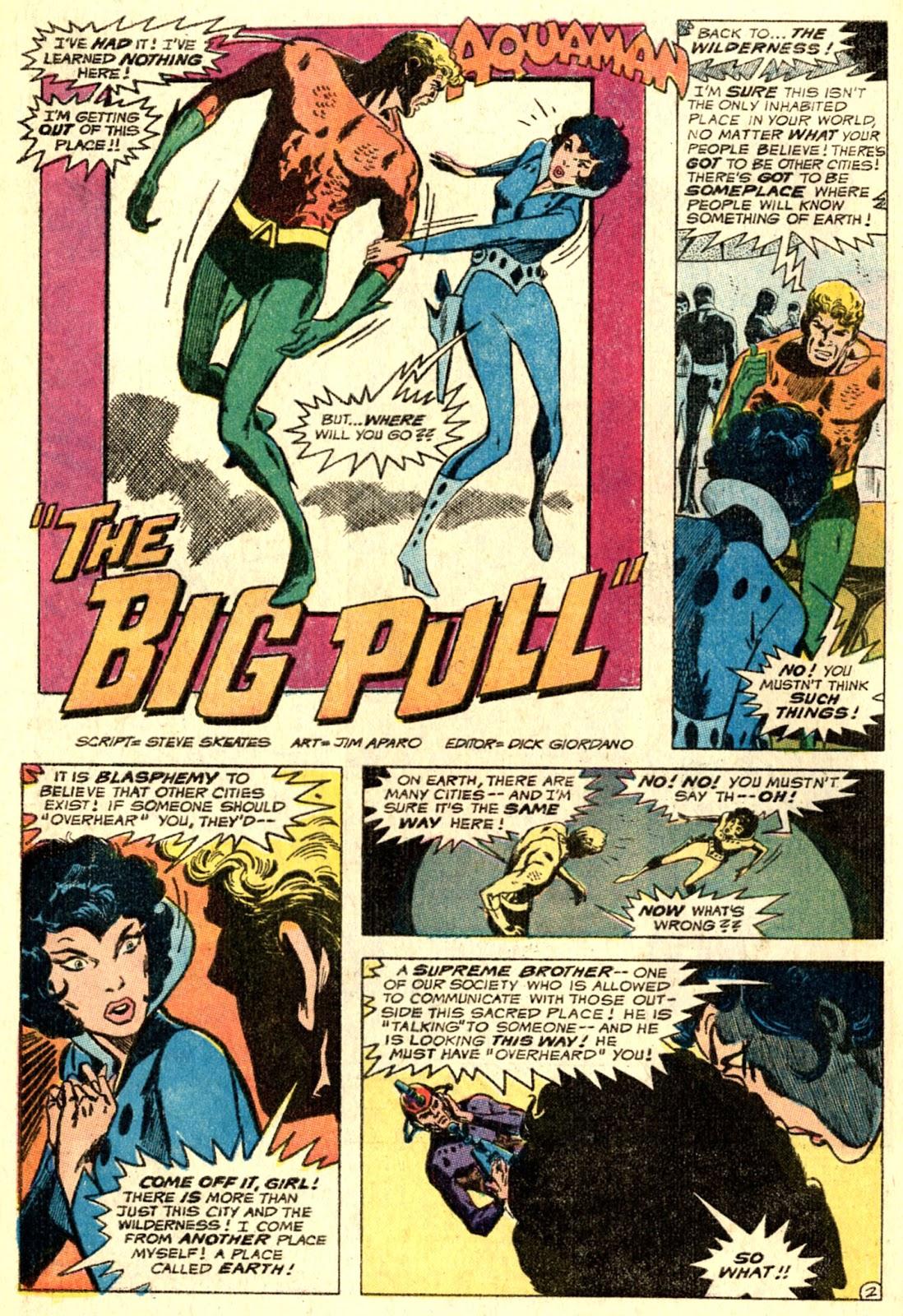 Aquaman (1962) Issue #51 #51 - English 4