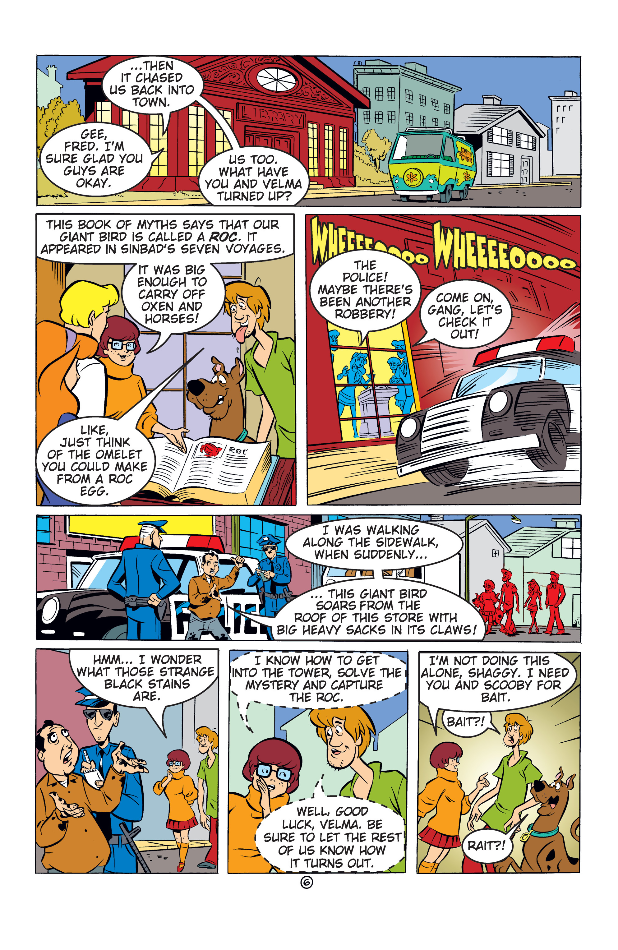 Read online Scooby-Doo: Where Are You? comic -  Issue #53 - 17